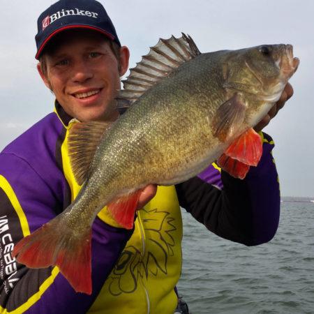 Pike-Perch fishing with Fishing Guide Stephan Gockel