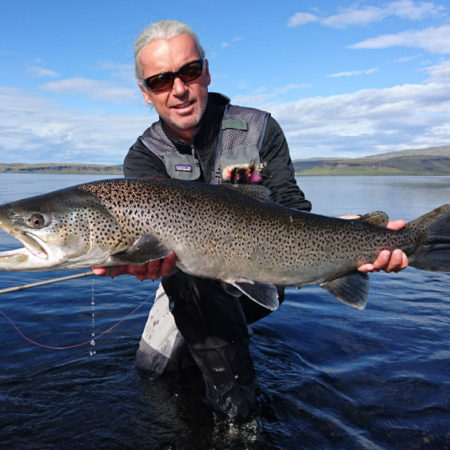 Fly Fishing with Fishing Guide Uwe Rieder