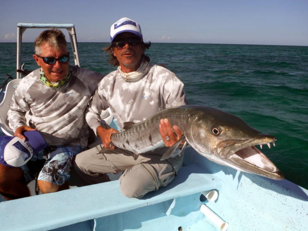 Fliegenfischen auf Snook in Mexico im Angelurlaub