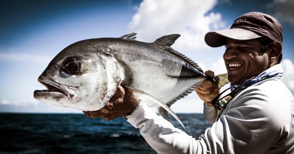 Fliegenfischen auf Grätenfisch in Venezuela im Angelurlaub